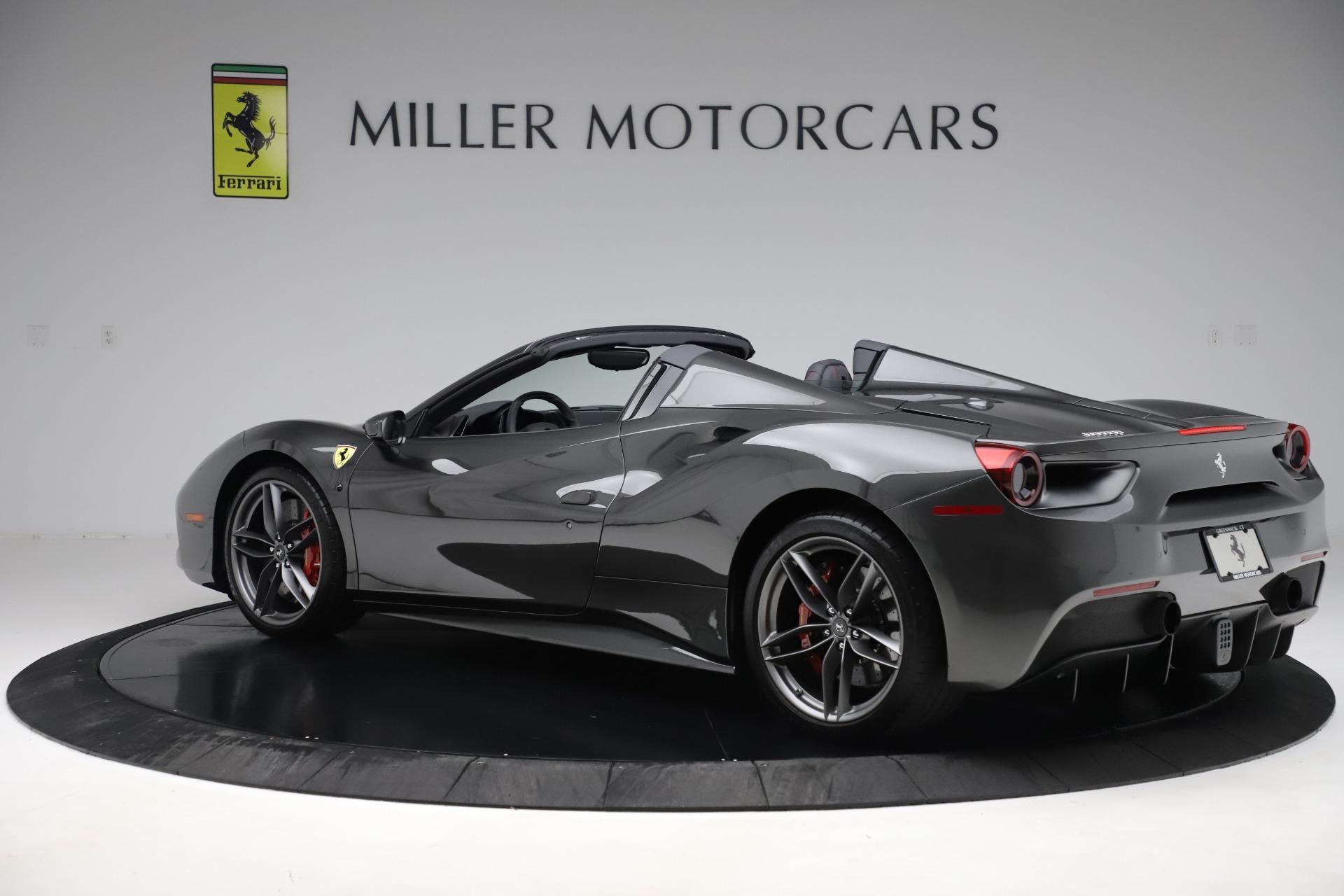 Used 2018 Ferrari 488 Spider  For Sale In Westport, CT 3584_p4