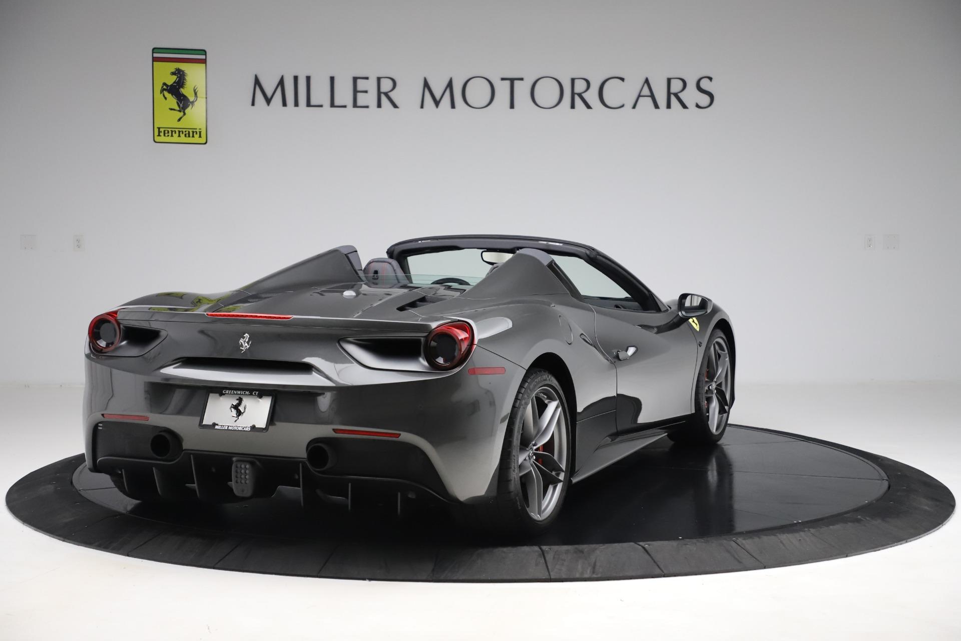 Used 2018 Ferrari 488 Spider  For Sale In Westport, CT 3584_p7