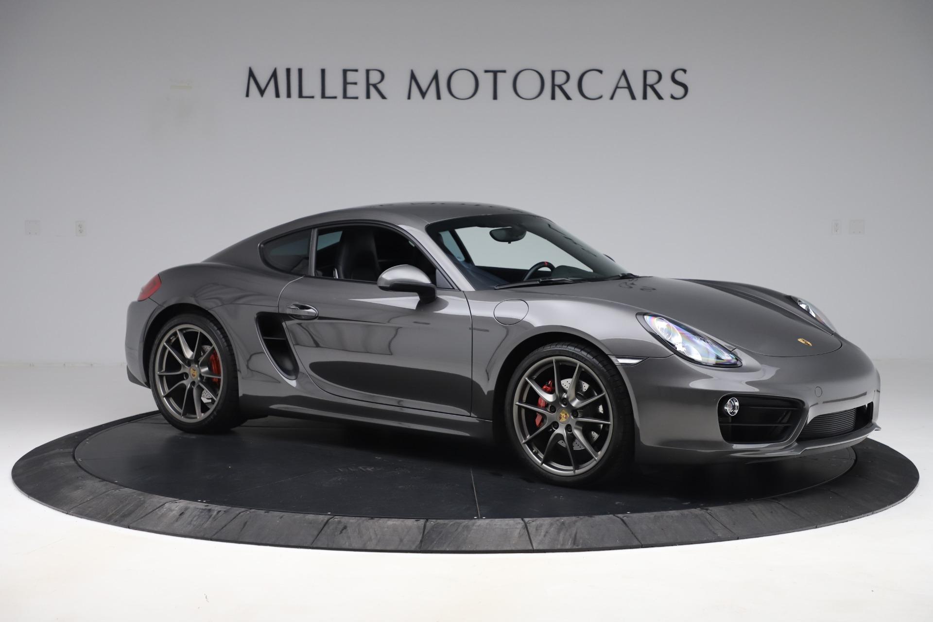 Used 2015 Porsche Cayman S For Sale In Westport, CT 3586_p10