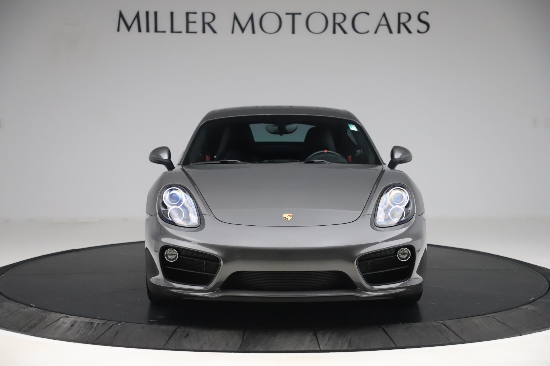 Used 2015 Porsche Cayman S For Sale In Westport, CT 3586_p12