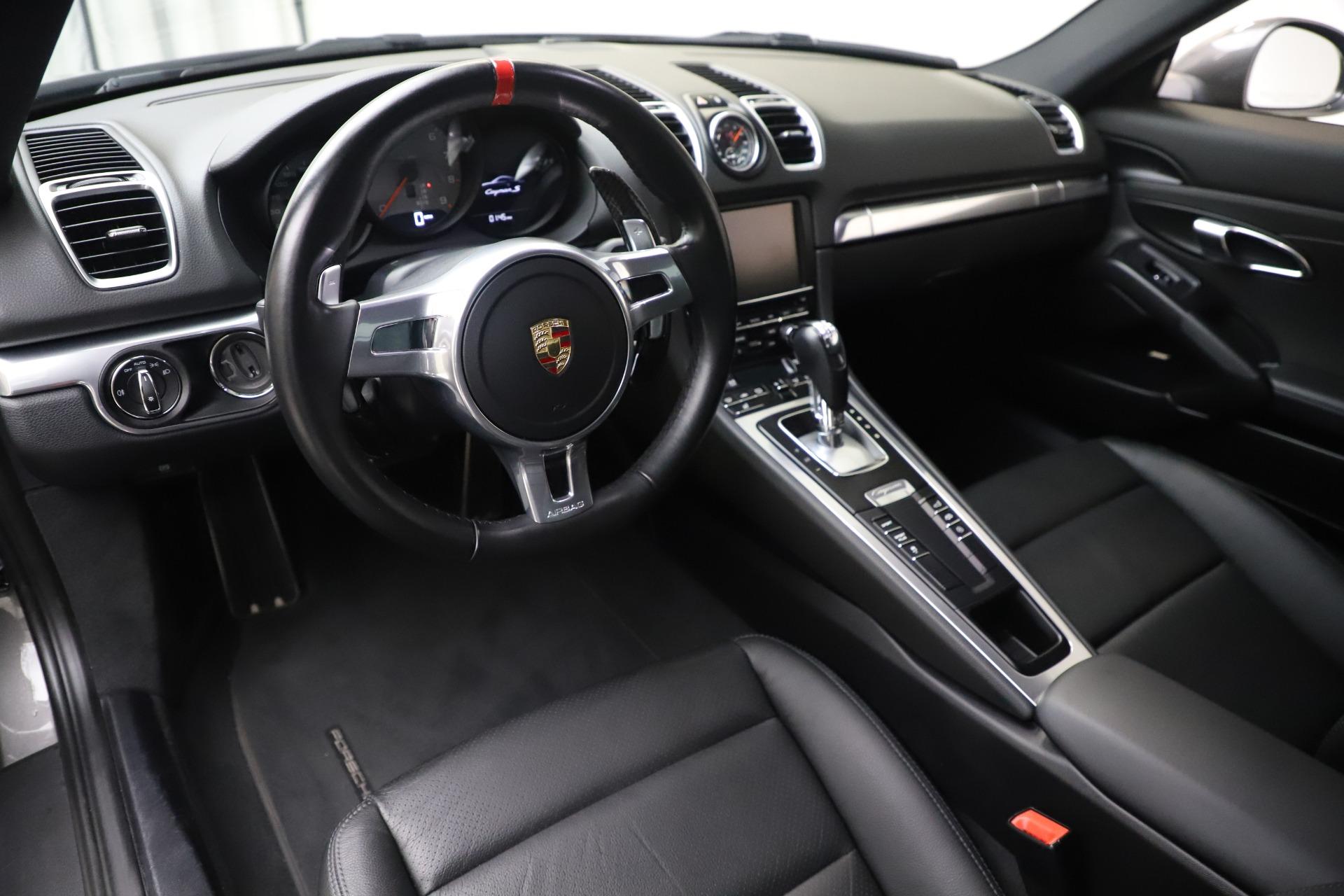 Used 2015 Porsche Cayman S For Sale In Westport, CT 3586_p13