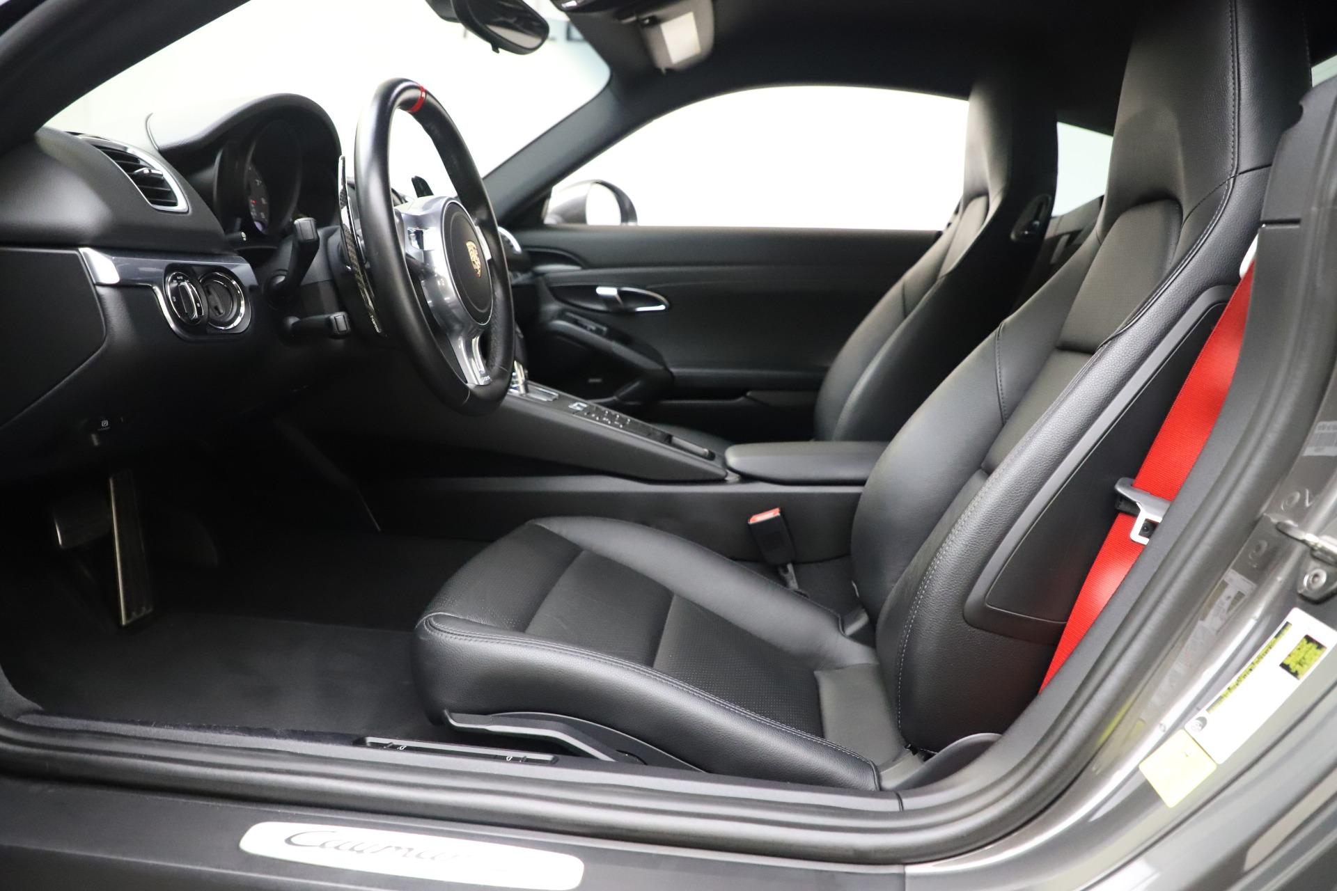 Used 2015 Porsche Cayman S For Sale In Westport, CT 3586_p14