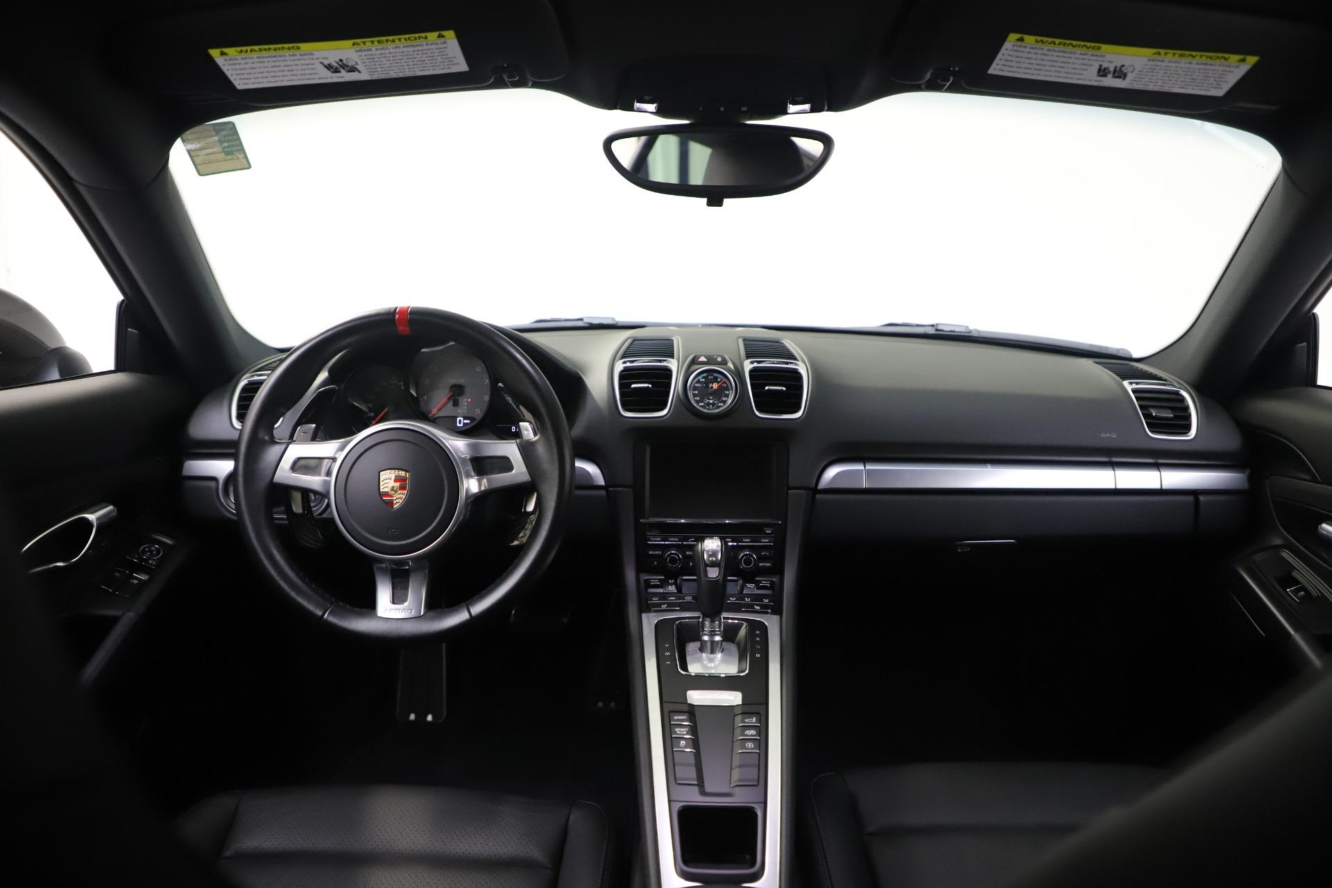 Used 2015 Porsche Cayman S For Sale In Westport, CT 3586_p16
