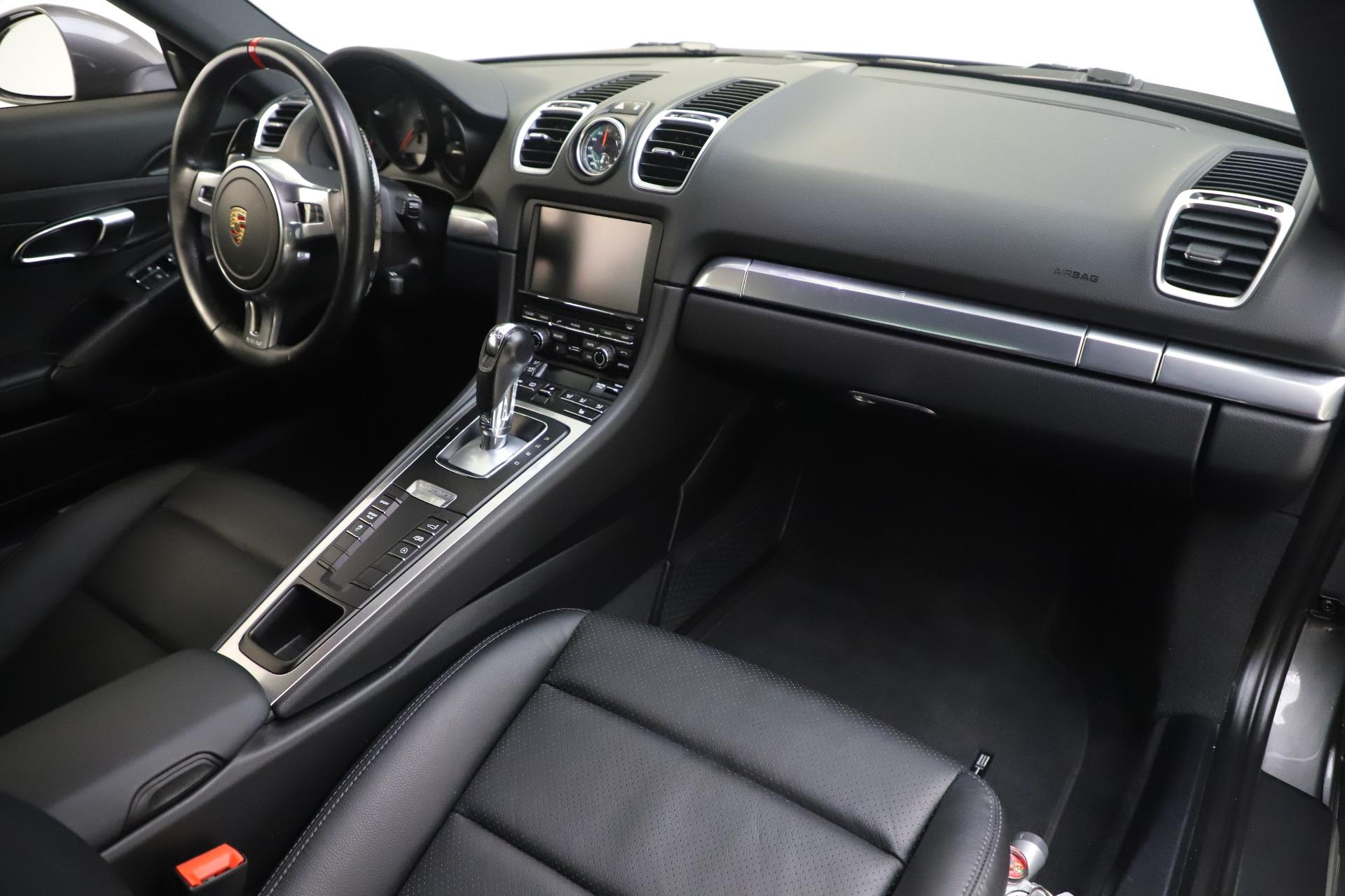Used 2015 Porsche Cayman S For Sale In Westport, CT 3586_p18