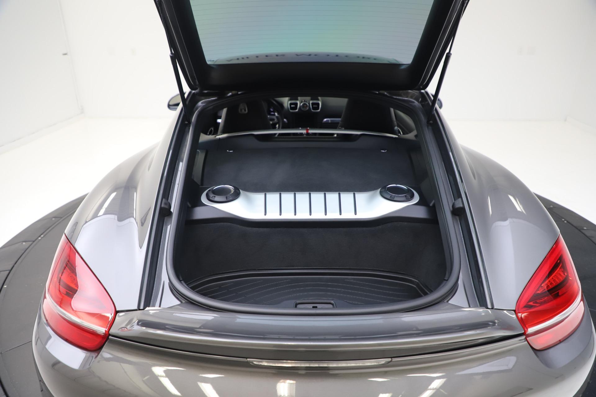 Used 2015 Porsche Cayman S For Sale In Westport, CT 3586_p24