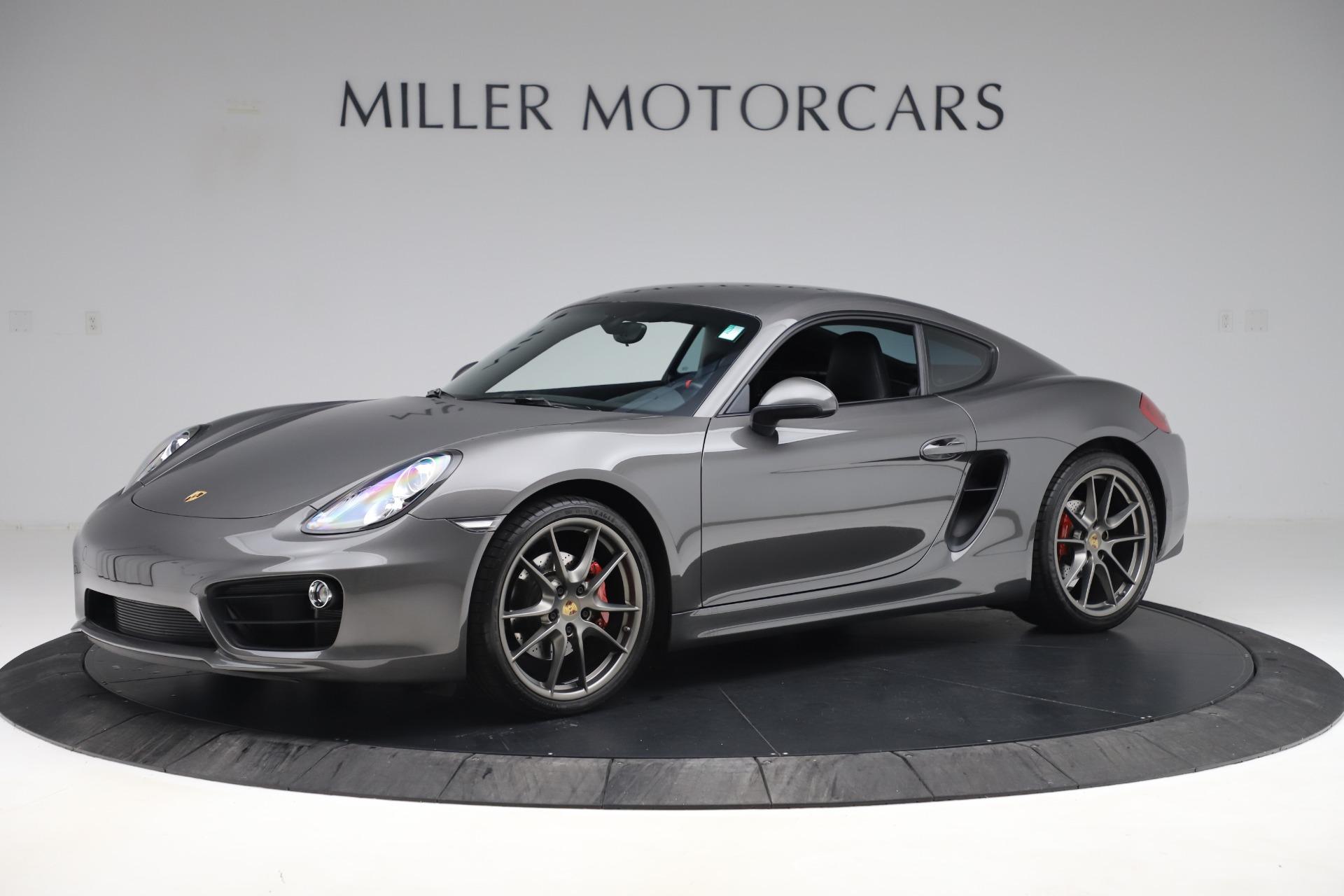 Used 2015 Porsche Cayman S For Sale In Westport, CT 3586_p2