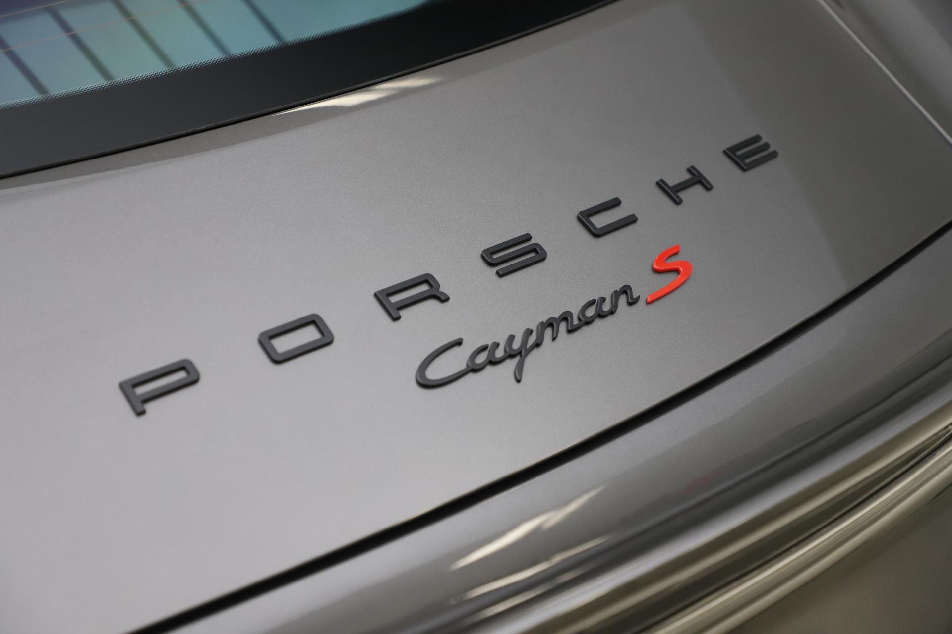 Used 2015 Porsche Cayman S For Sale In Westport, CT 3586_p30