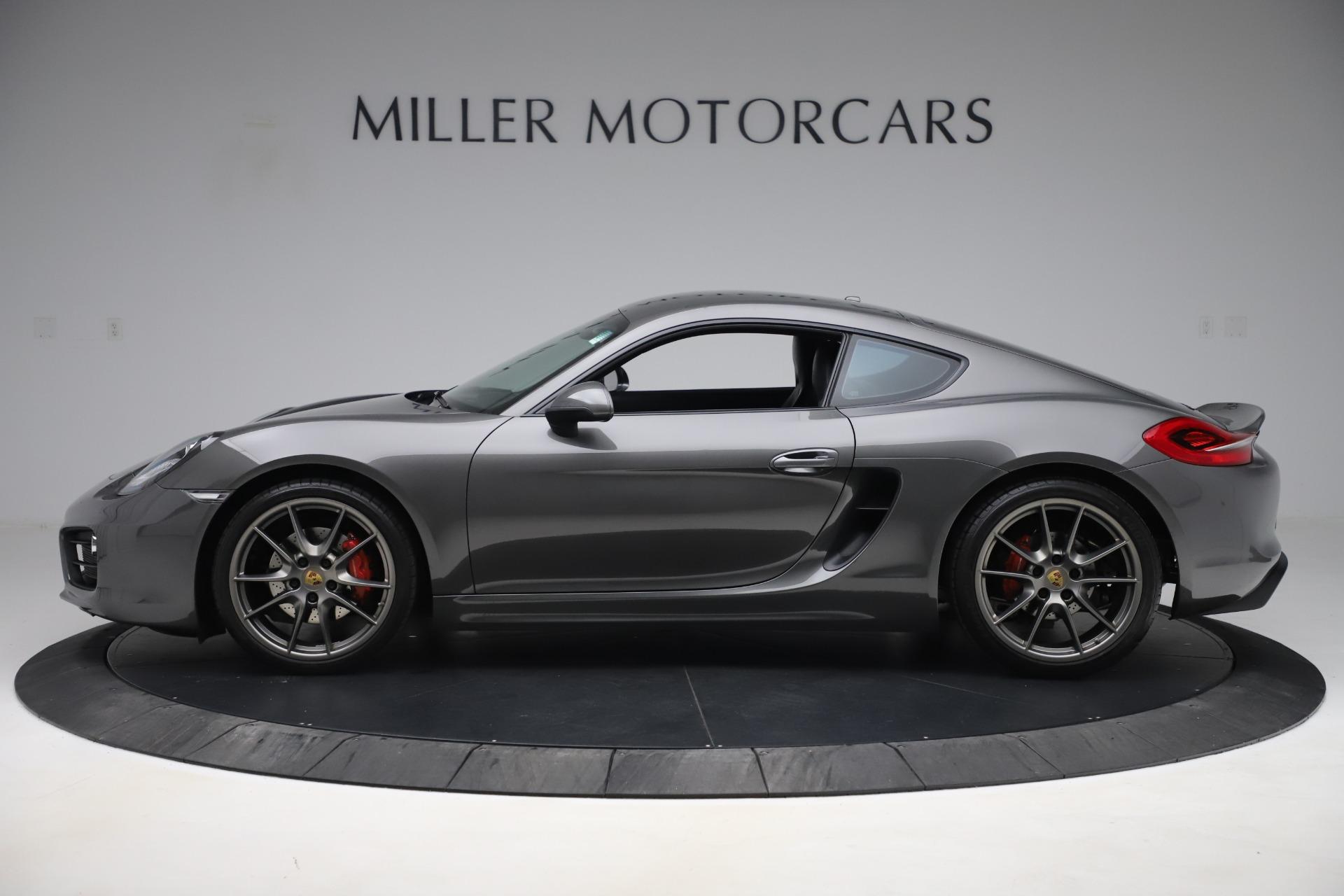 Used 2015 Porsche Cayman S For Sale In Westport, CT 3586_p3