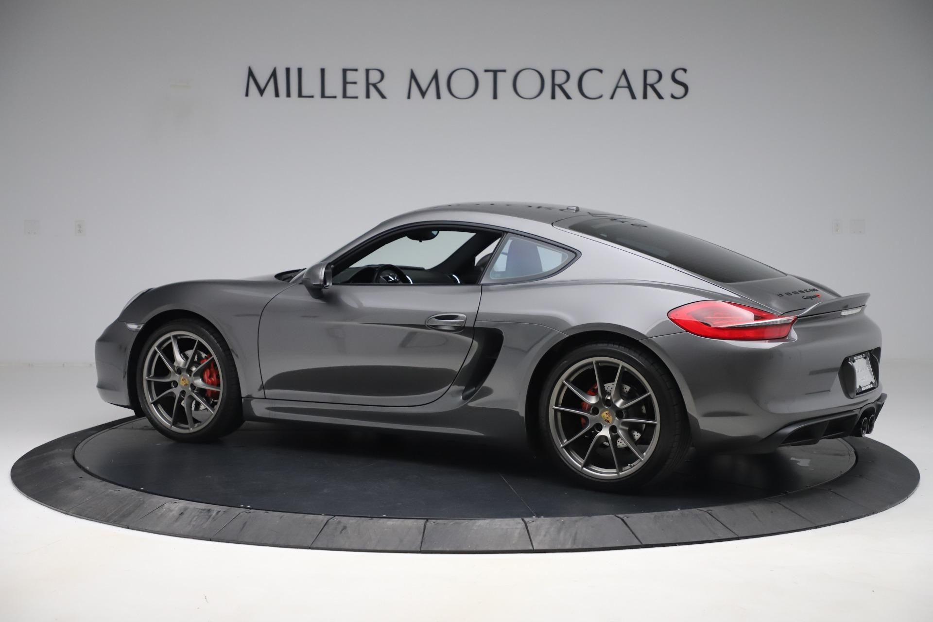 Used 2015 Porsche Cayman S For Sale In Westport, CT 3586_p4