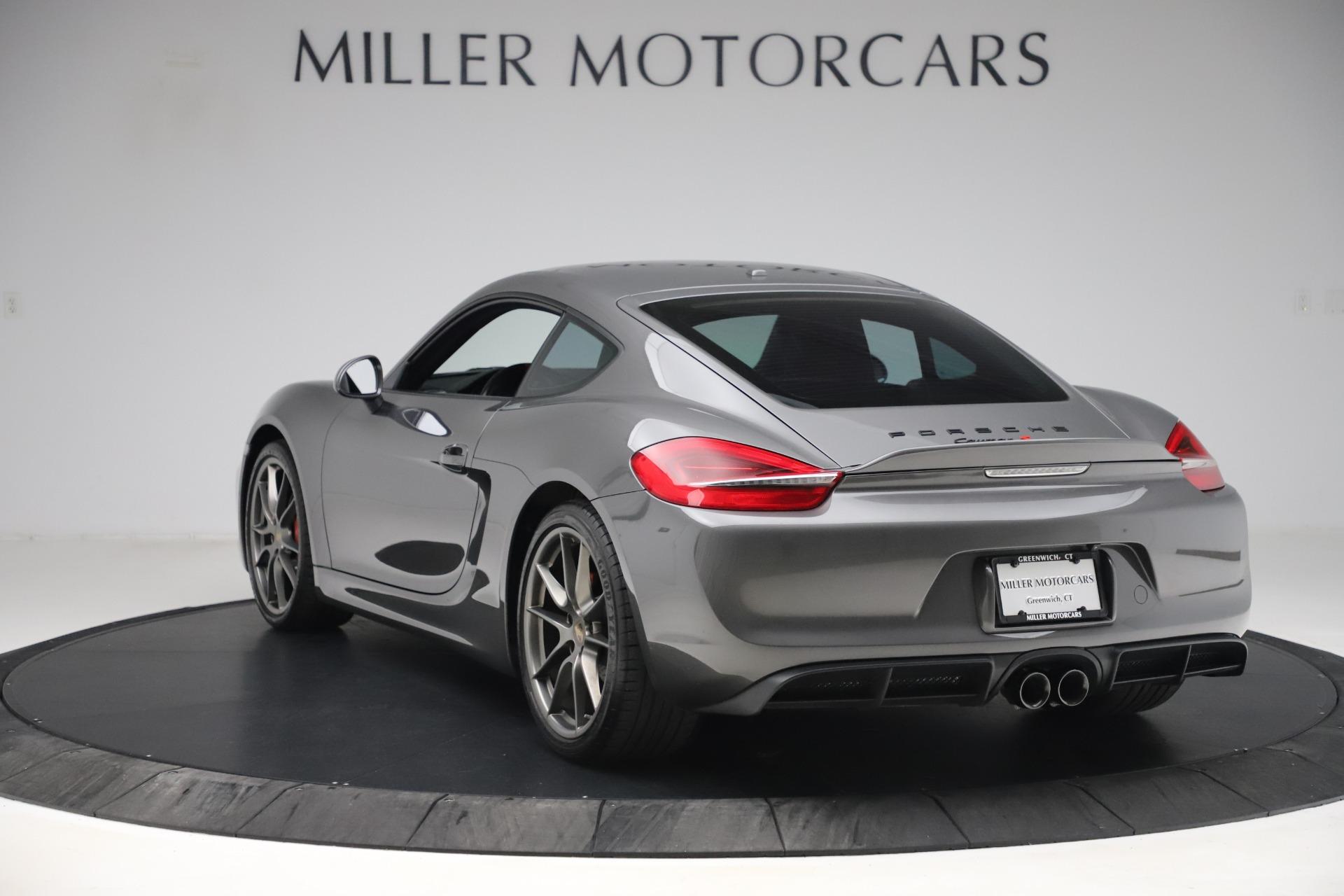 Used 2015 Porsche Cayman S For Sale In Westport, CT 3586_p5