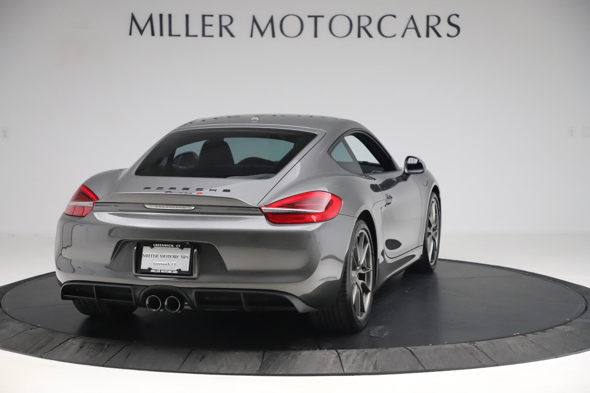 Used 2015 Porsche Cayman S For Sale In Westport, CT 3586_p7