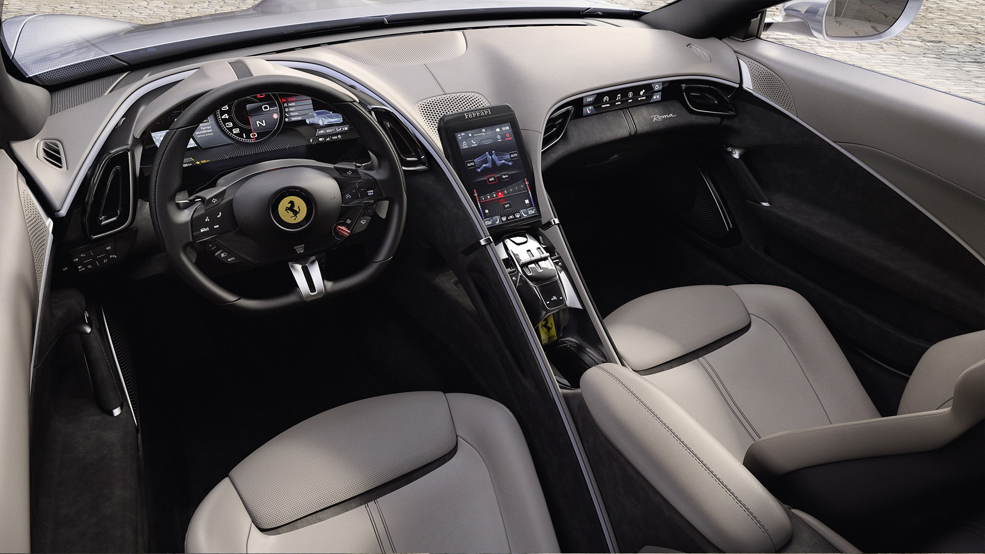 New 2020 Ferrari Roma  For Sale In Westport, CT 3594_p5