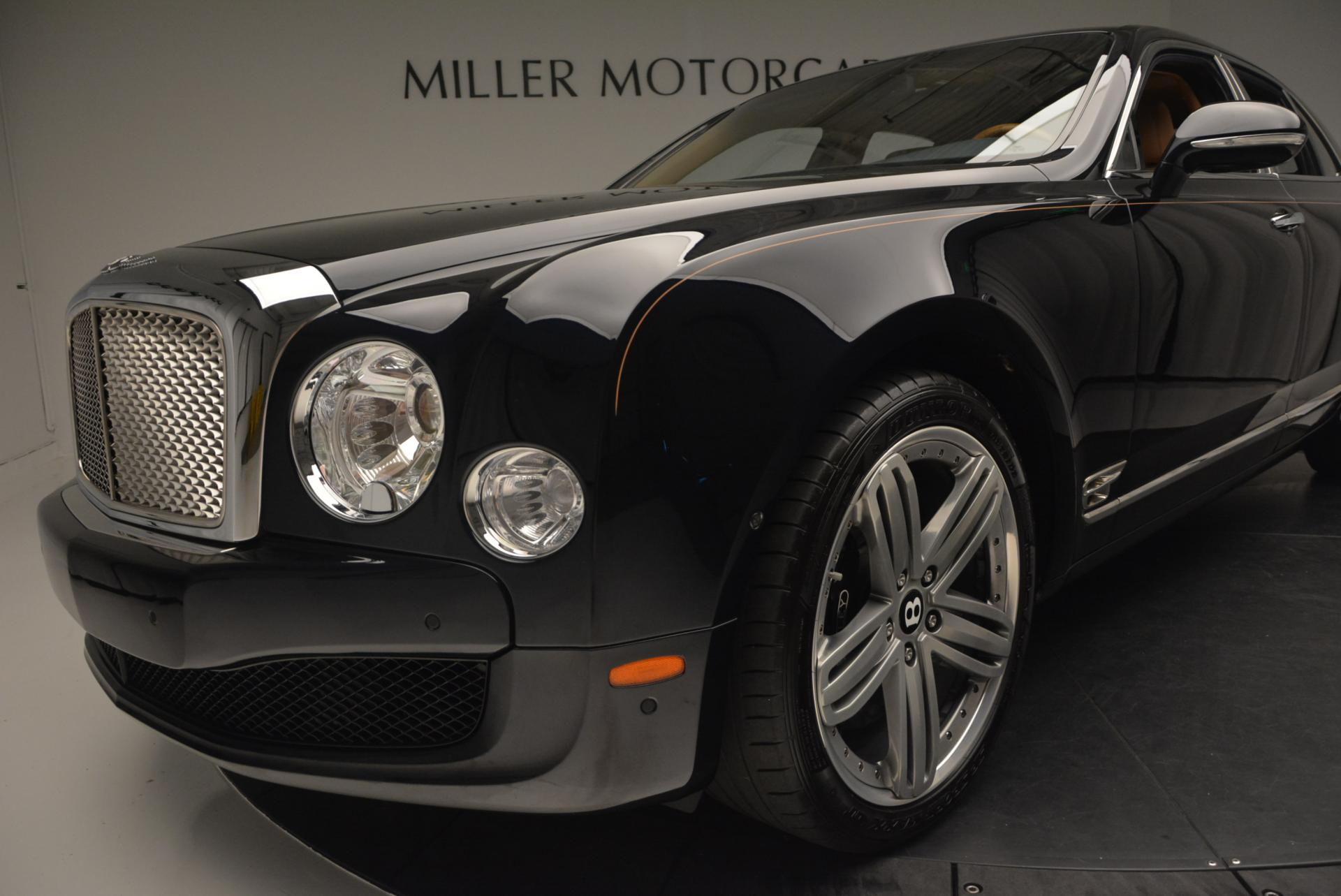 Used 2013 Bentley Mulsanne Le Mans Edition- Number 1 of 48 For Sale In Westport, CT 40_p15