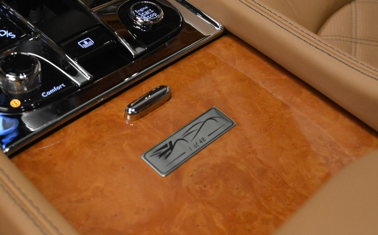 Used 2013 Bentley Mulsanne Le Mans Edition- Number 1 of 48 For Sale In Westport, CT 40_p31