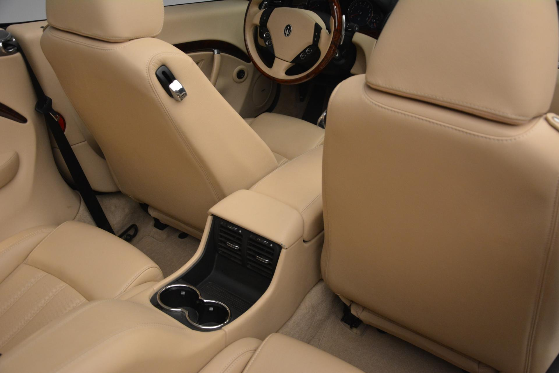 Used 2011 Maserati GranTurismo  For Sale In Westport, CT 45_p34