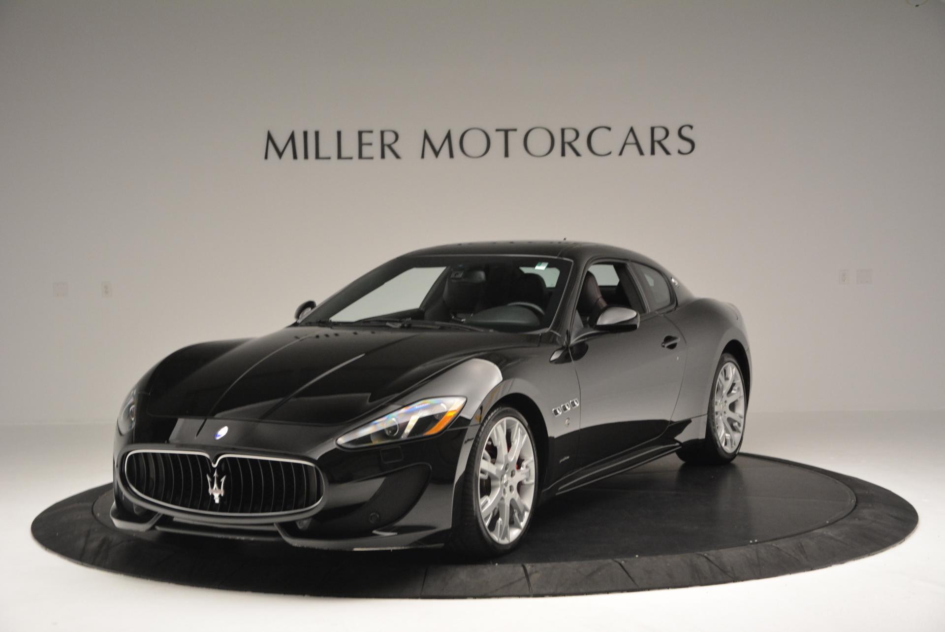 Used 2013 Maserati GranTurismo Sport For Sale In Westport, CT 46_main