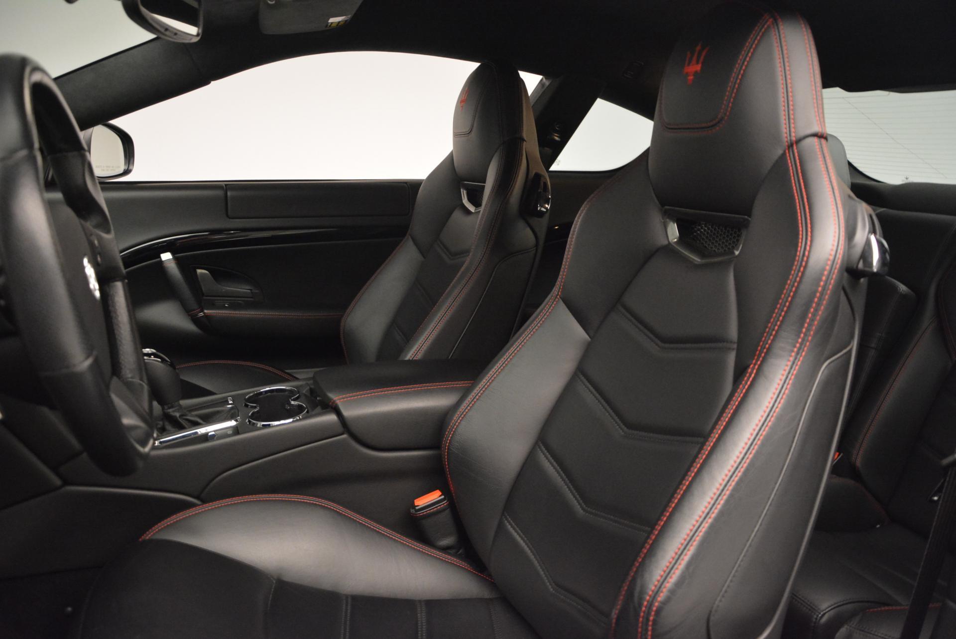 Used 2013 Maserati GranTurismo Sport For Sale In Westport, CT 46_p15