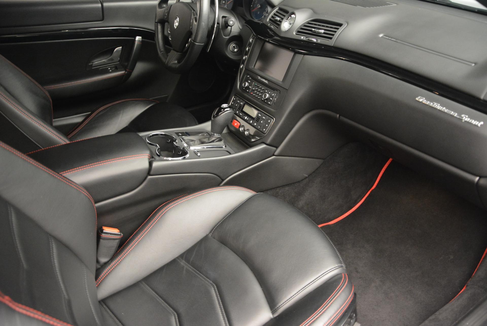 Used 2013 Maserati GranTurismo Sport For Sale In Westport, CT 46_p17