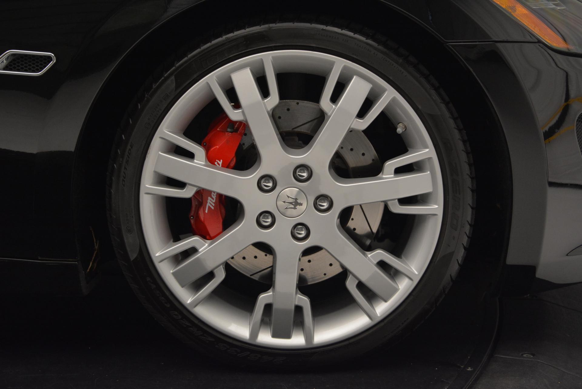 Used 2013 Maserati GranTurismo Sport For Sale In Westport, CT 46_p21