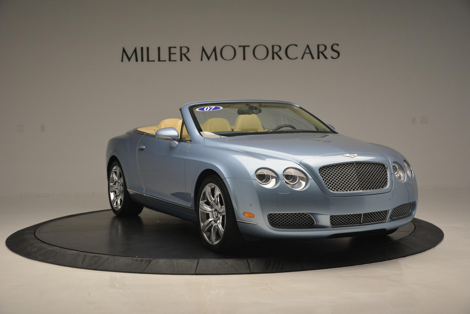 Used 2007 Bentley Continental GTC  For Sale In Westport, CT 495_p10
