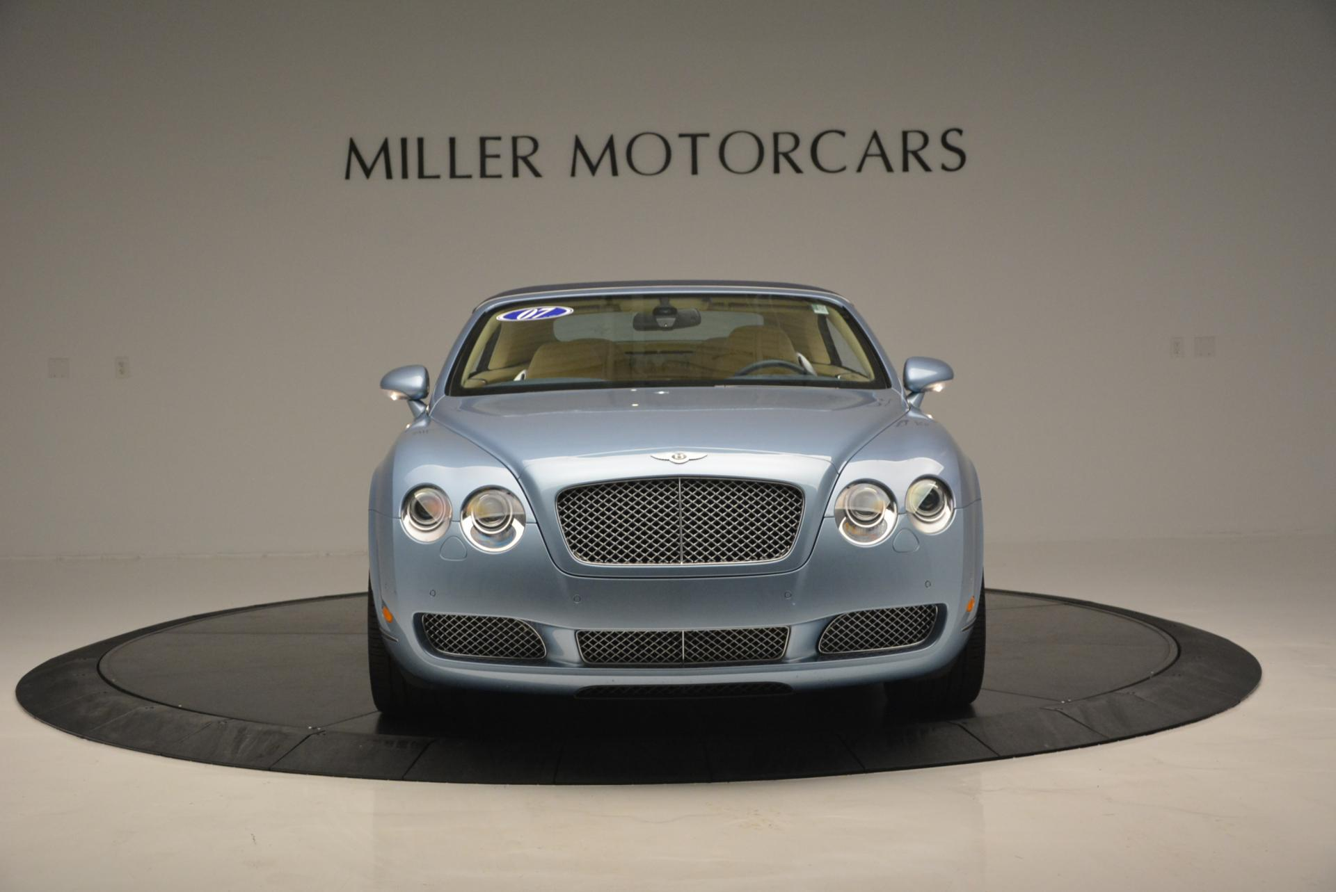 Used 2007 Bentley Continental GTC  For Sale In Westport, CT 495_p12