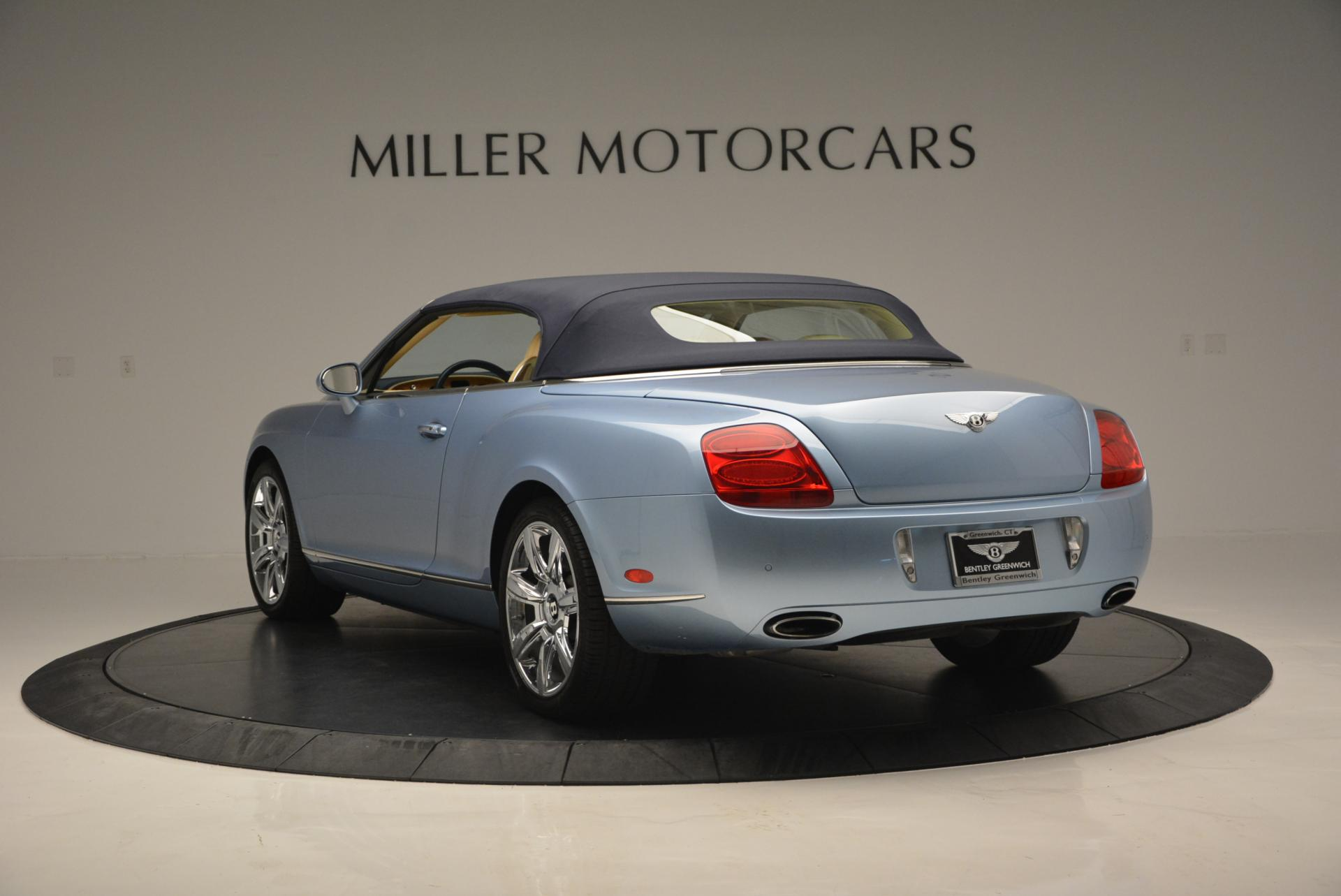 Used 2007 Bentley Continental GTC  For Sale In Westport, CT 495_p17
