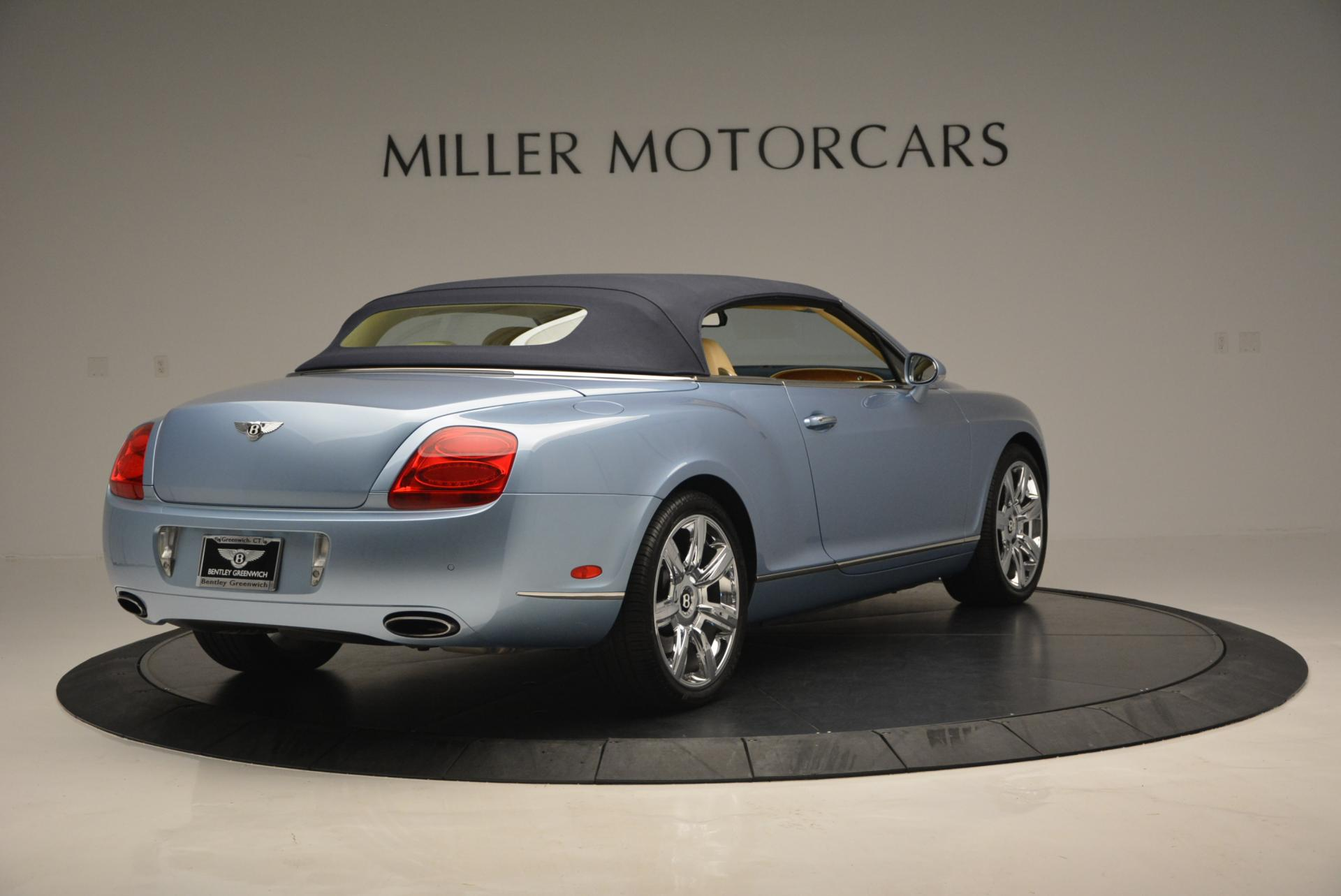 Used 2007 Bentley Continental GTC  For Sale In Westport, CT 495_p19