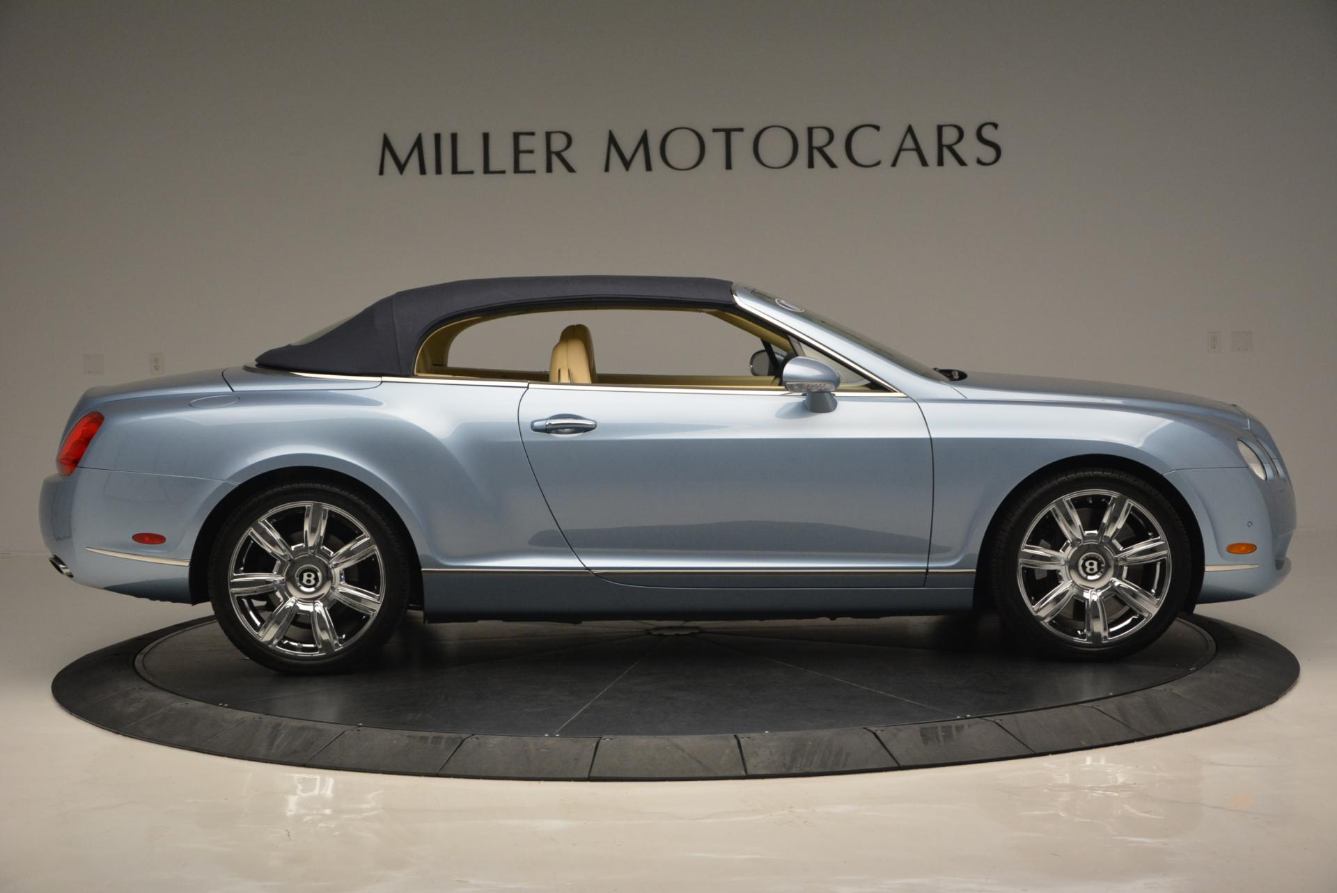 Used 2007 Bentley Continental GTC  For Sale In Westport, CT 495_p21