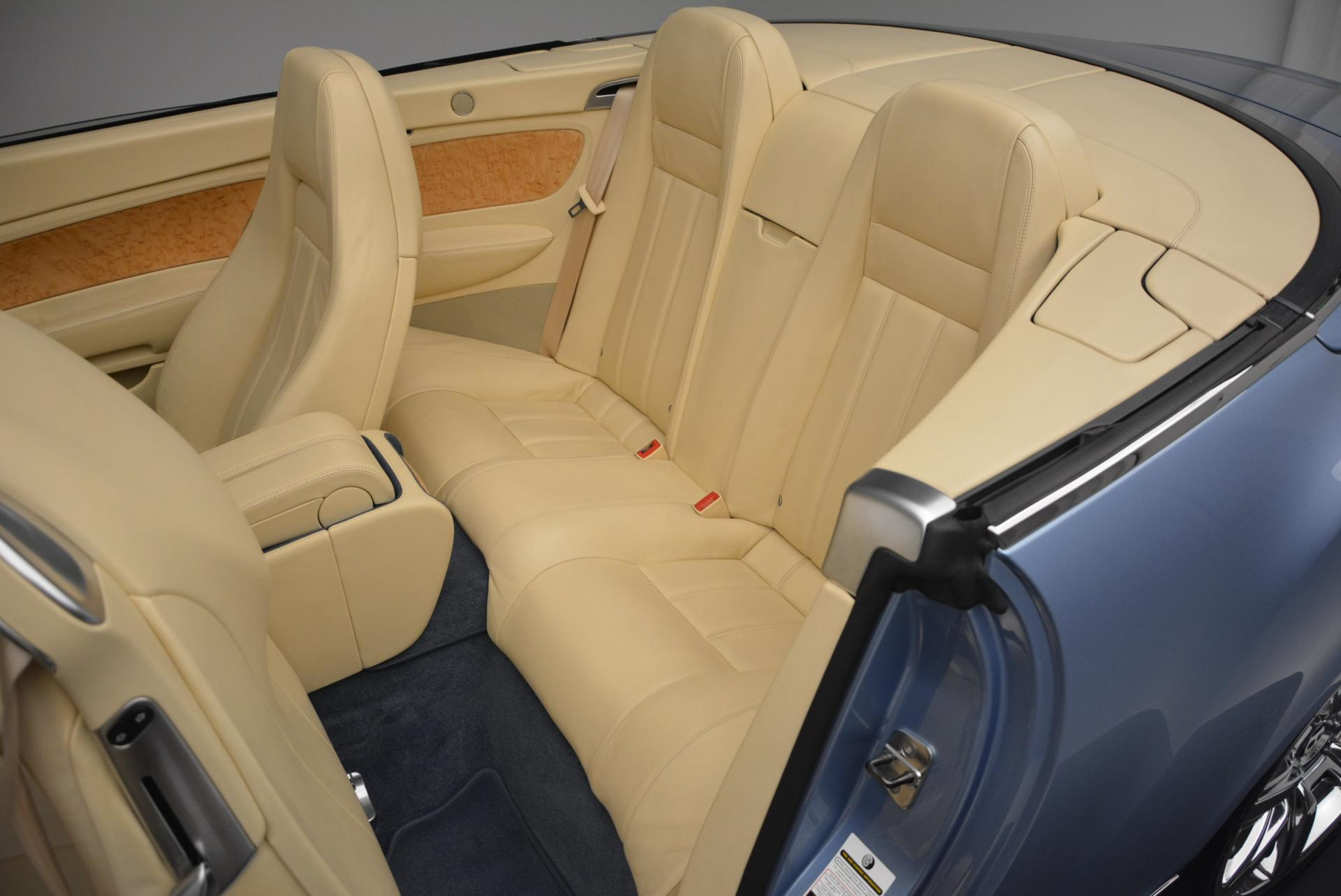 Used 2007 Bentley Continental GTC  For Sale In Westport, CT 495_p34
