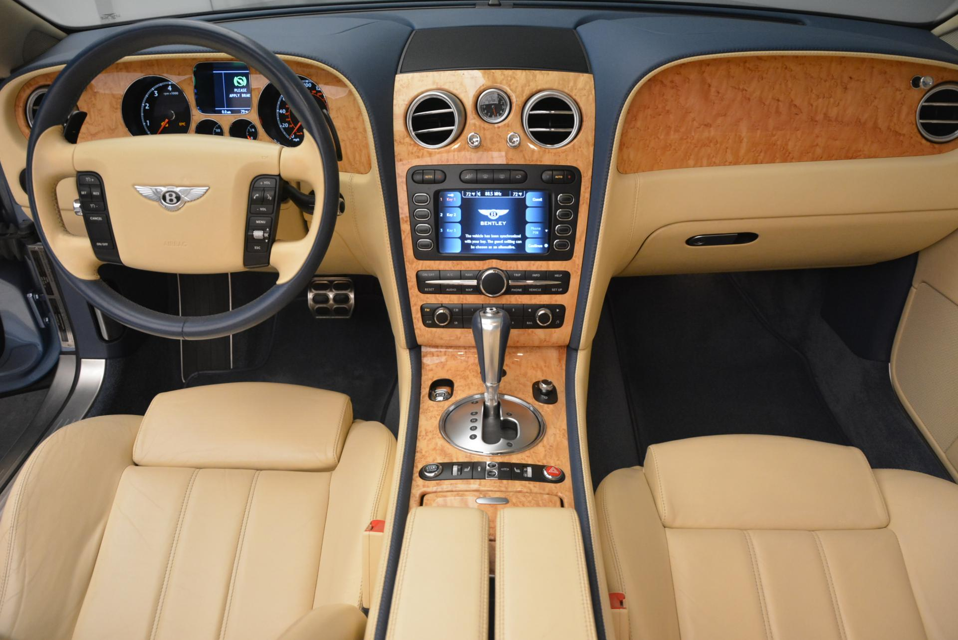 Used 2007 Bentley Continental GTC  For Sale In Westport, CT 495_p37
