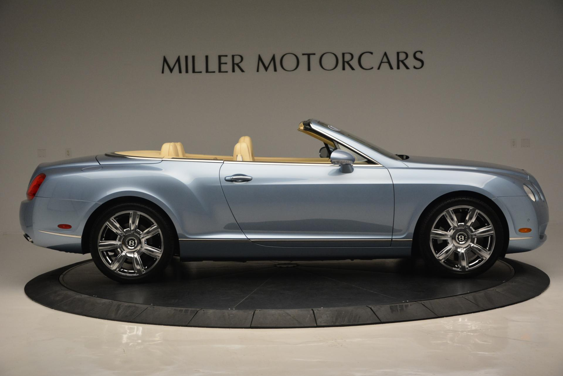 Used 2007 Bentley Continental GTC  For Sale In Westport, CT 495_p9