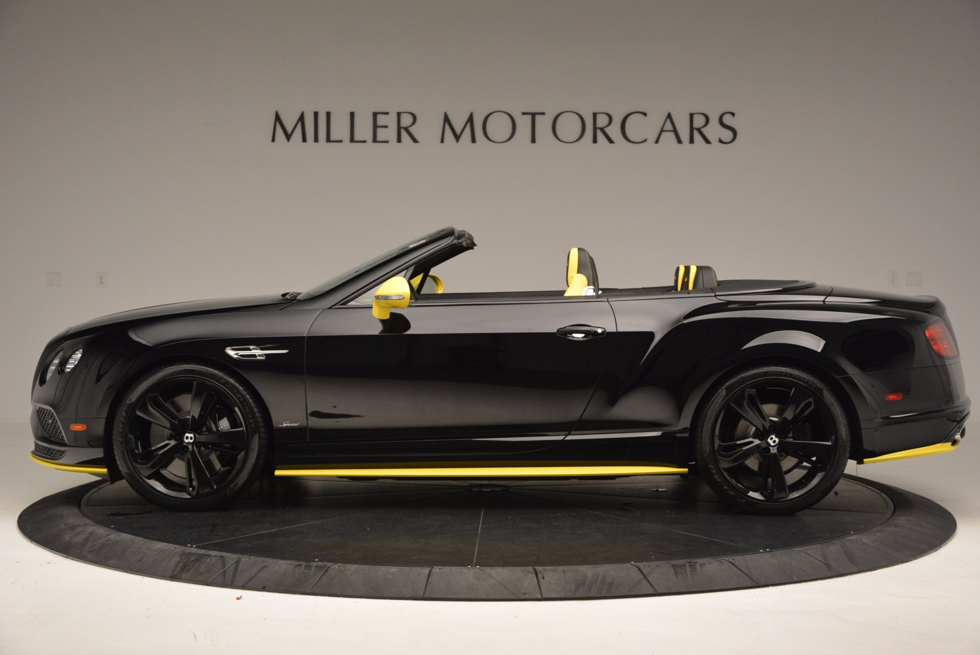 New 2017 Bentley Continental GT Speed Black Edition Convertible  For Sale In Westport, CT 496_p3