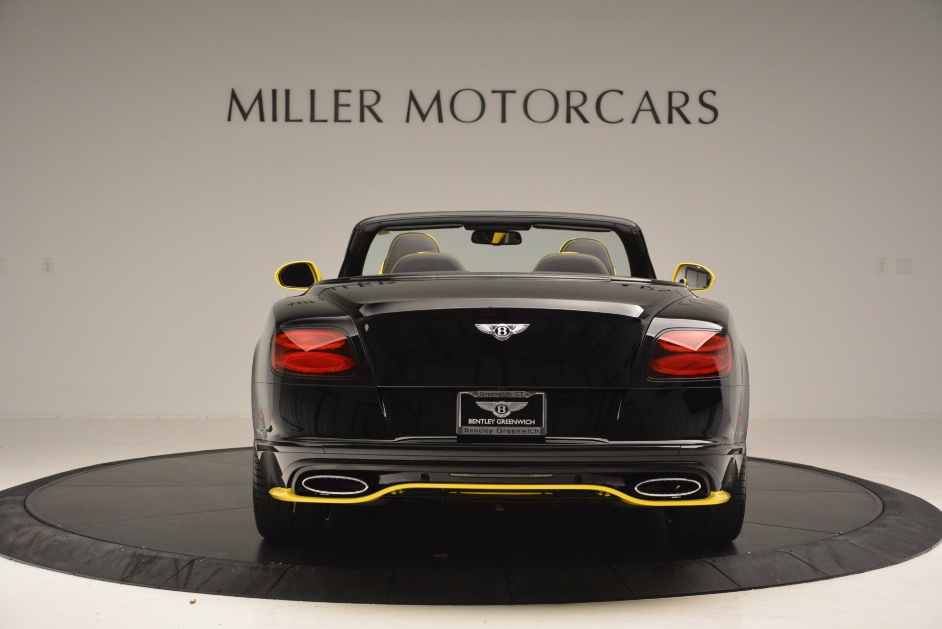 New 2017 Bentley Continental GT Speed Black Edition Convertible  For Sale In Westport, CT 496_p6
