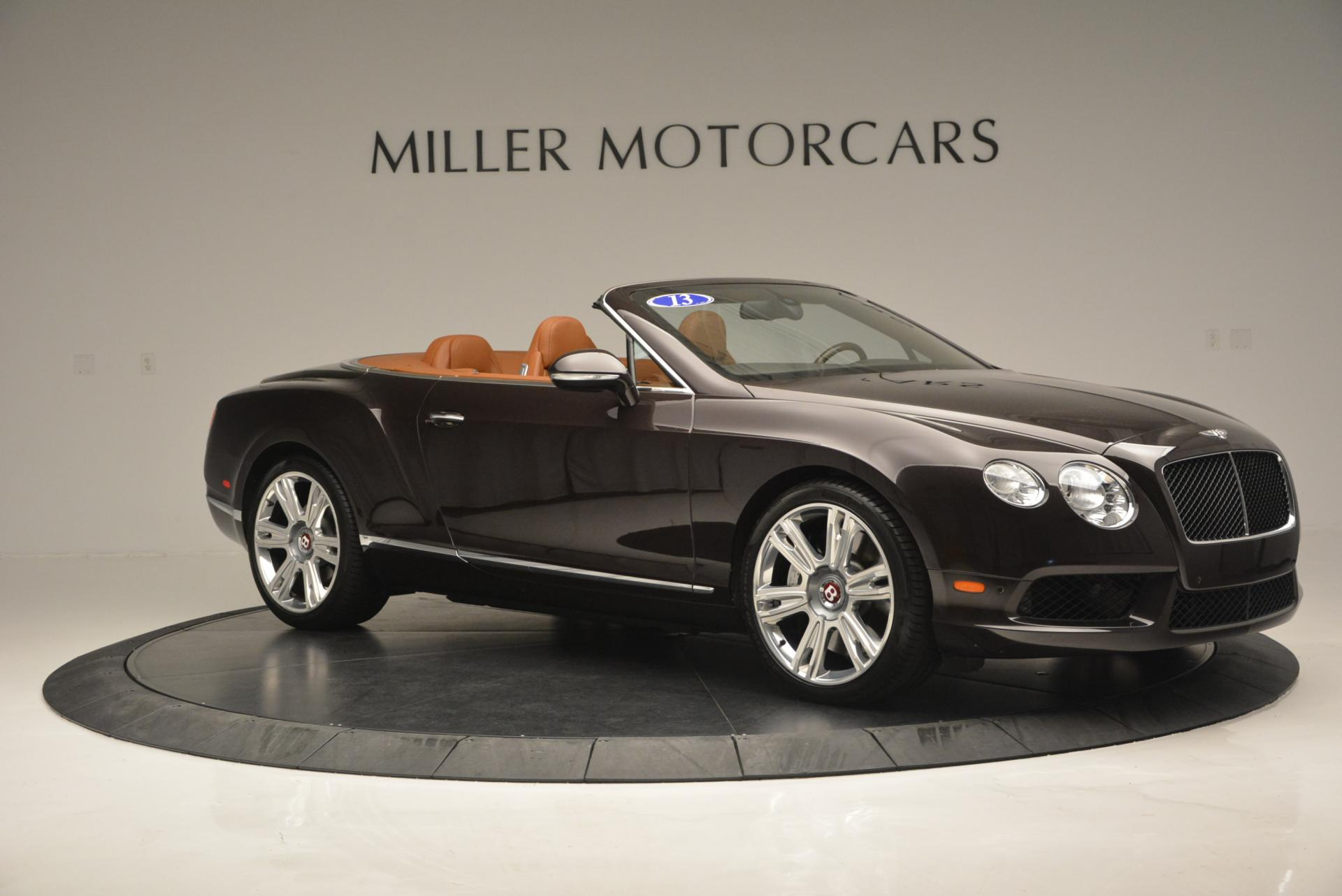 Used 2013 Bentley Continental GTC V8  For Sale In Westport, CT 498_p10