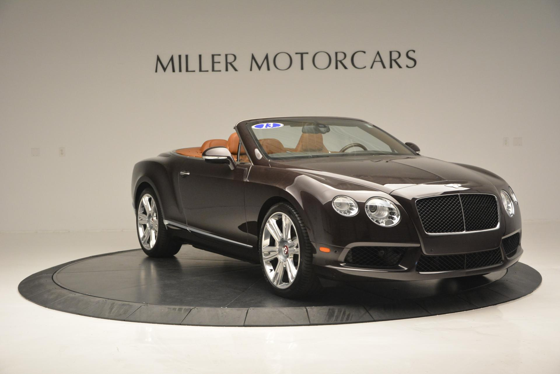 Used 2013 Bentley Continental GTC V8  For Sale In Westport, CT 498_p11