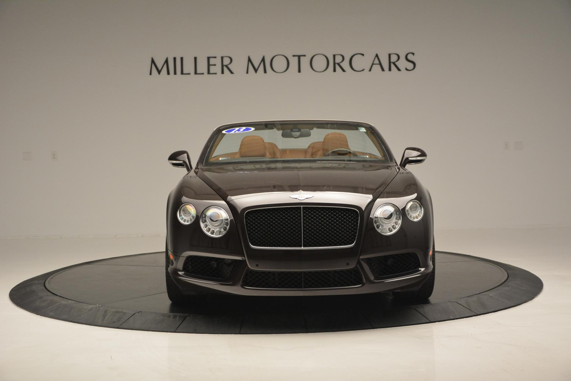 Used 2013 Bentley Continental GTC V8  For Sale In Westport, CT 498_p12