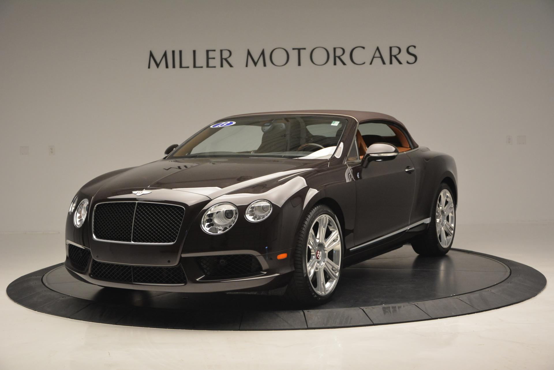 Used 2013 Bentley Continental GTC V8  For Sale In Westport, CT 498_p14