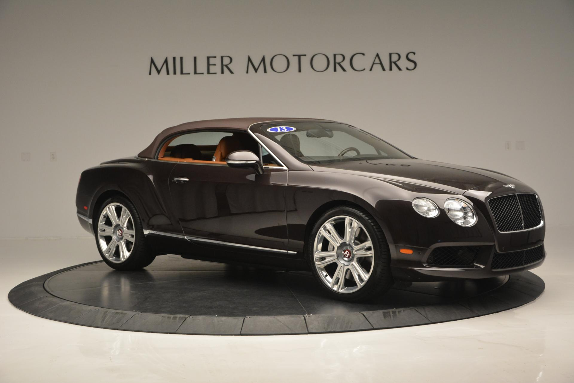 Used 2013 Bentley Continental GTC V8  For Sale In Westport, CT 498_p23