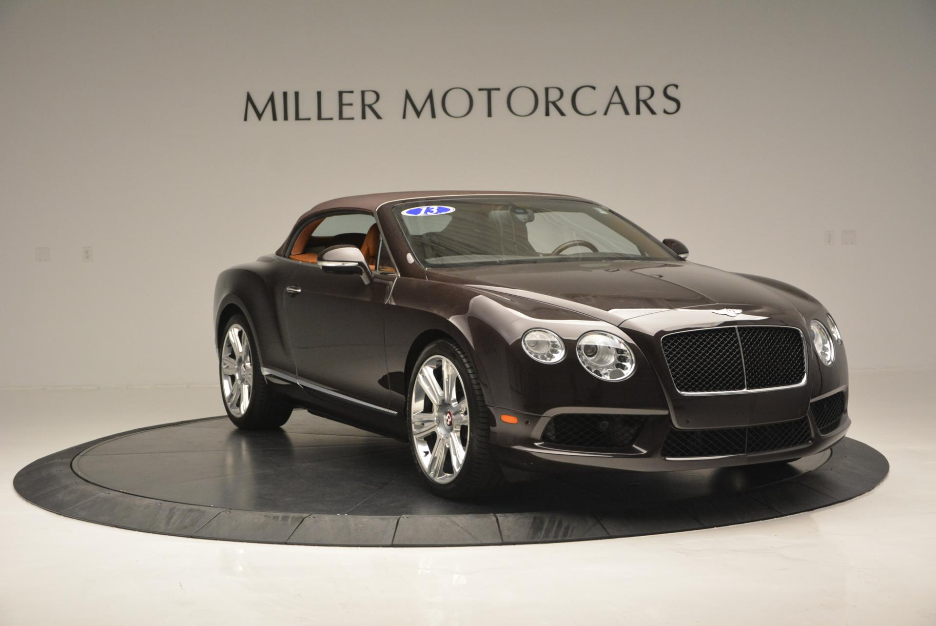 Used 2013 Bentley Continental GTC V8  For Sale In Westport, CT 498_p24