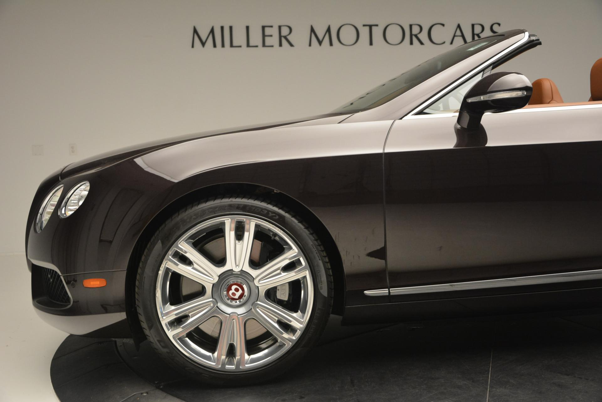 Used 2013 Bentley Continental GTC V8  For Sale In Westport, CT 498_p30