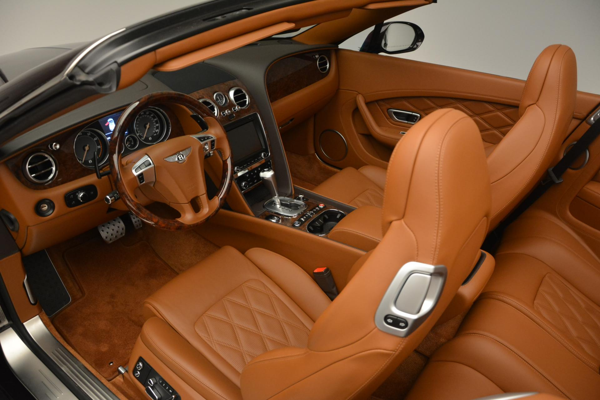 Used 2013 Bentley Continental GTC V8  For Sale In Westport, CT 498_p35