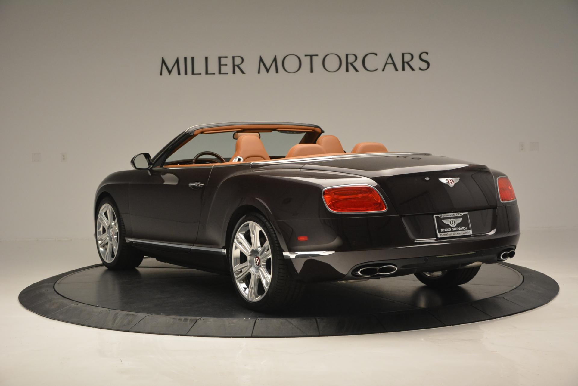 Used 2013 Bentley Continental GTC V8  For Sale In Westport, CT 498_p5