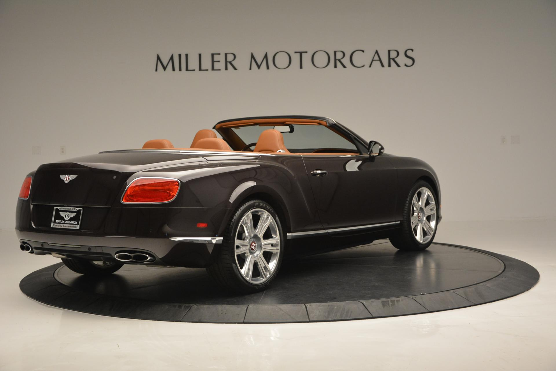 Used 2013 Bentley Continental GTC V8  For Sale In Westport, CT 498_p8