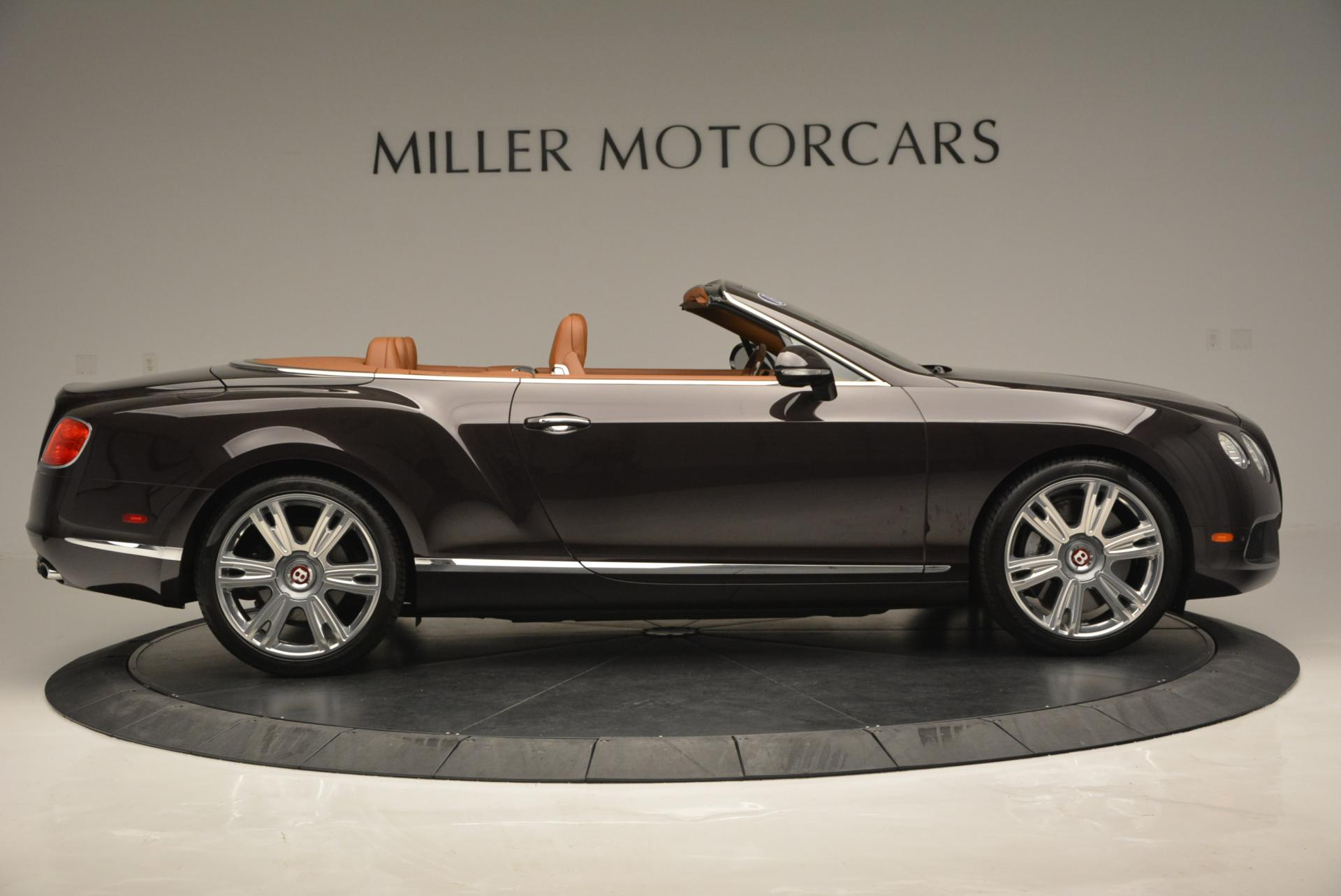 Used 2013 Bentley Continental GTC V8  For Sale In Westport, CT 498_p9