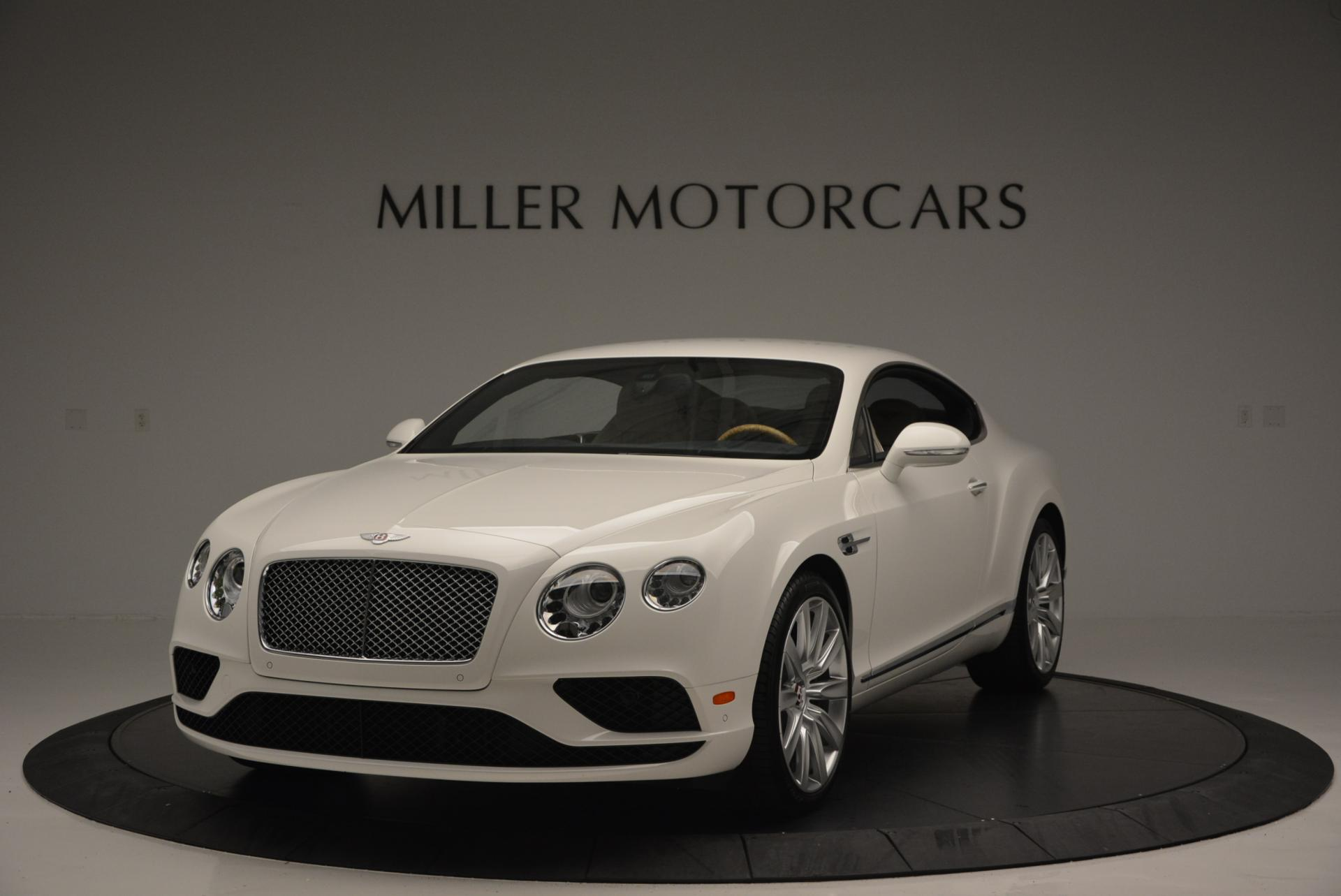New 2016 Bentley Continental GT V8 For Sale In Westport, CT 502_main