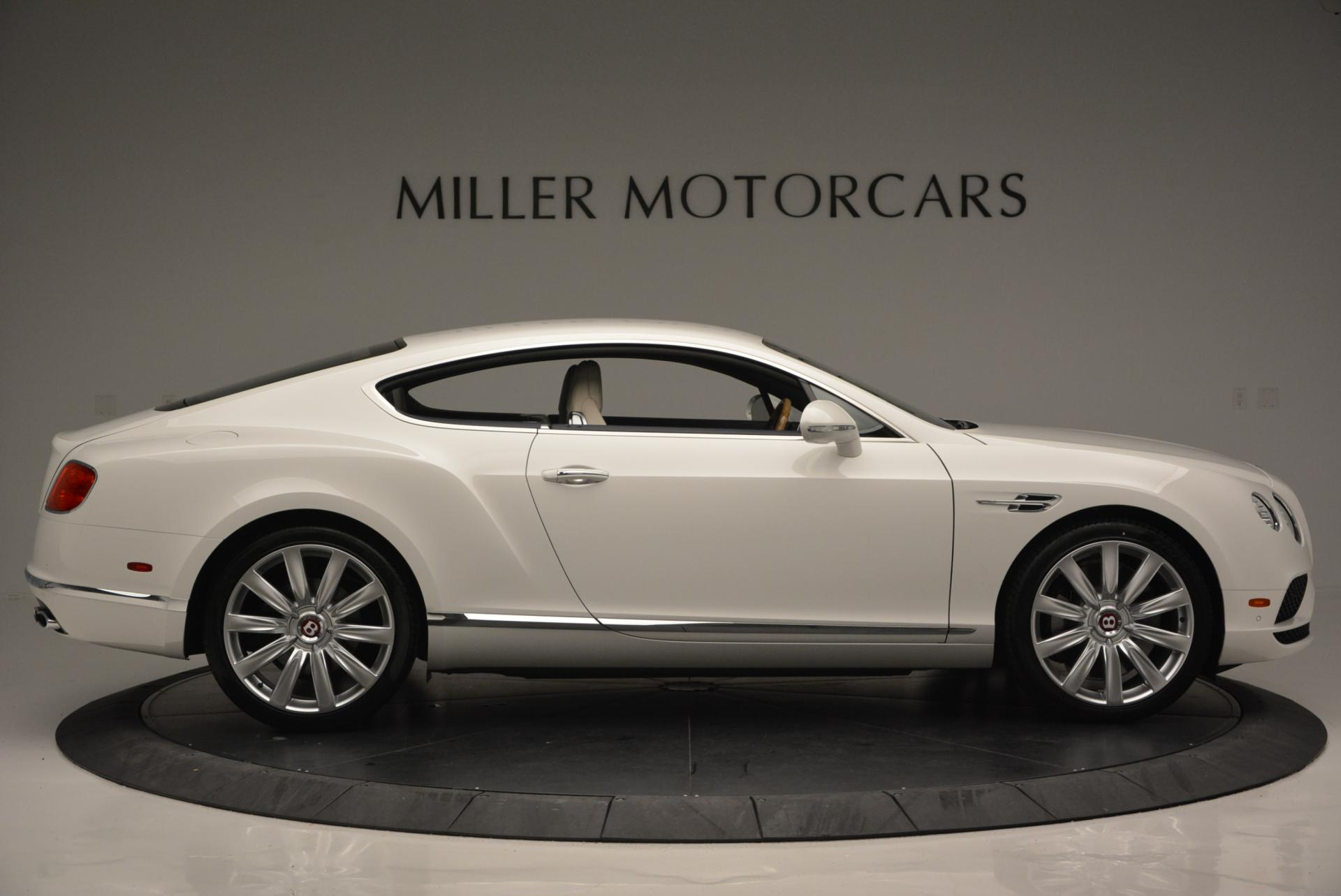 New 2016 Bentley Continental GT V8 For Sale In Westport, CT 502_p9
