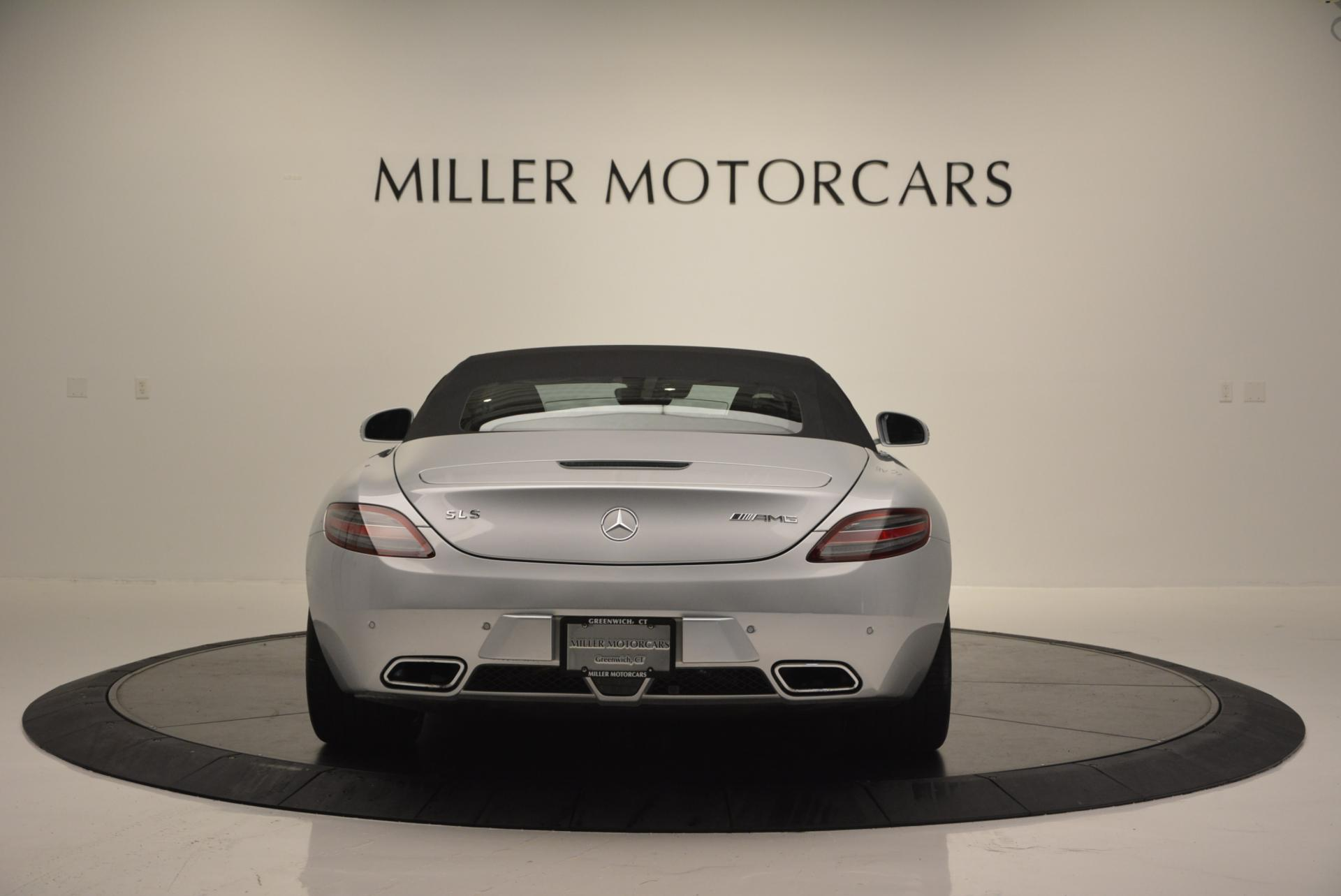 Used 2012 Mercedes Benz SLS AMG  For Sale In Westport, CT 517_p18
