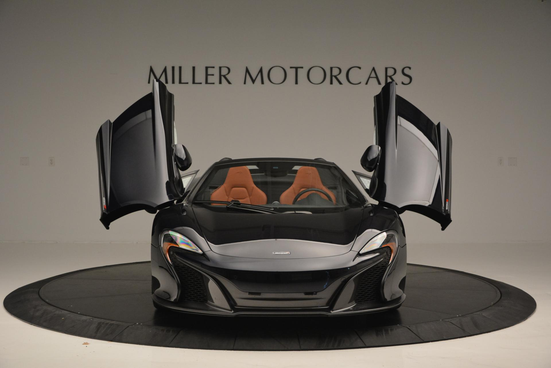 Used 2015 McLaren 650S Spider  For Sale In Westport, CT 518_p12