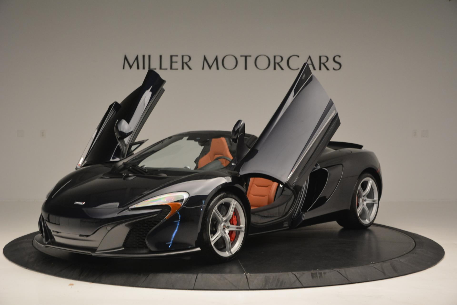 Used 2015 McLaren 650S Spider  For Sale In Westport, CT 518_p13