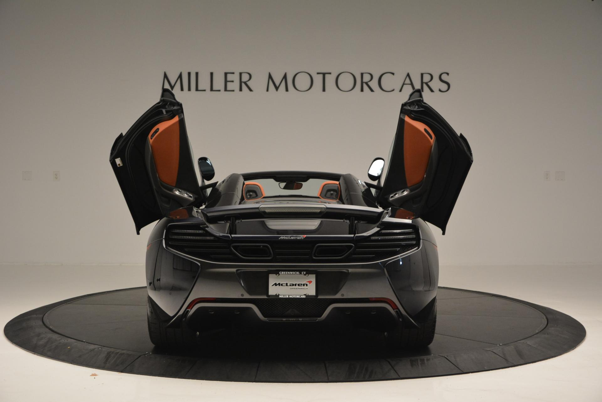 Used 2015 McLaren 650S Spider  For Sale In Westport, CT 518_p14